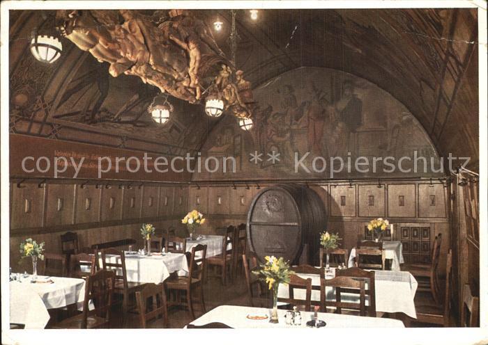Leipzig Auerbachs Keller Alter historischer Keller Kat. Leipzig