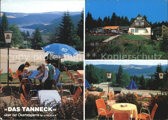 Schulenberg Oberharz Hotel Restaurant Das Tanneck Okertalsperre Kat. Schulenberg im Oberharz