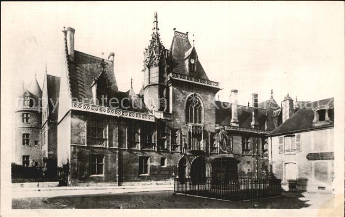 Bourges Palais Jacques Coeur La Facade Kat. Bourges