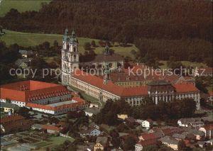 St Florian Fliegeraufnahme Barockes Augustiner Chorherrenstift St. Florian Kat. Oesterreich