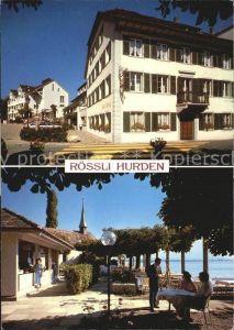 Hurden Hotel Restaurant Roessli Kat. Hurden