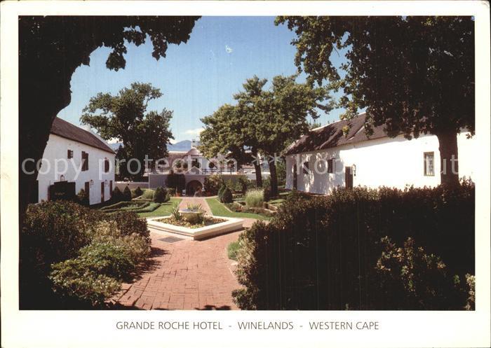 Suedafrika Southafrica RSA Western Cape Winlands Grande Roche Hotel Kat. Suedafrika