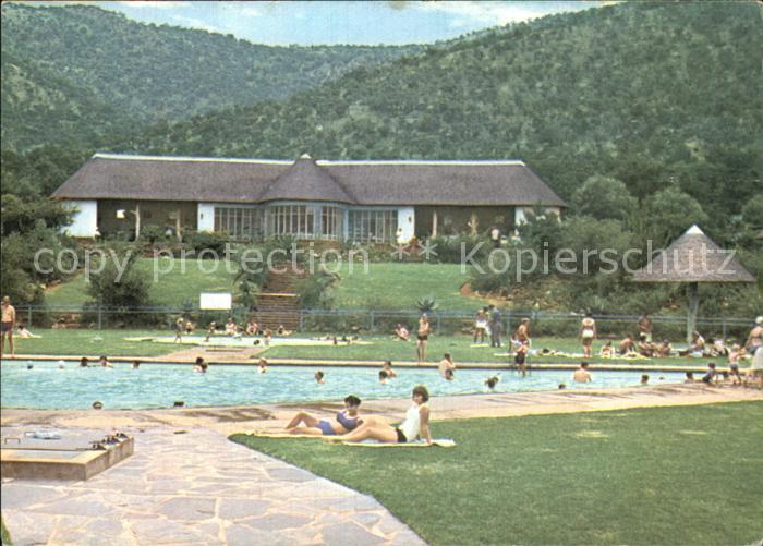 Suedafrika Southafrica RSA Loskopdam Schwimmbad Kat. Suedafrika