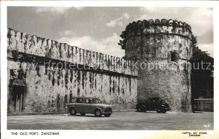 Zanzibar Old Fort Kat. Zanzibar