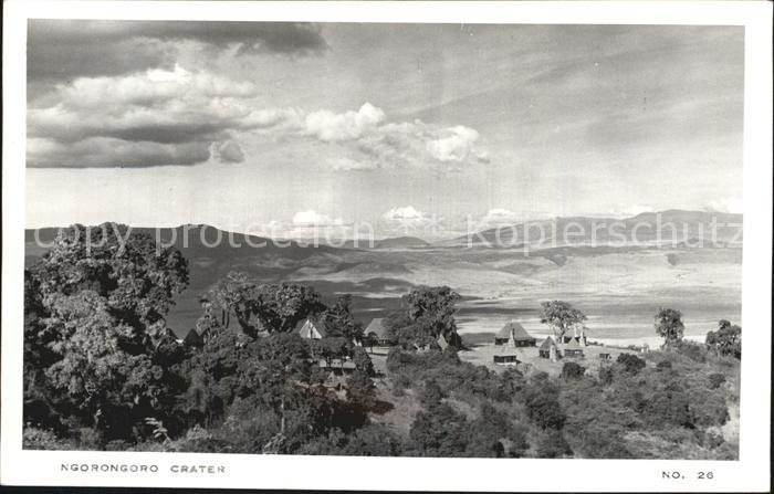 Tansania Ngorongoro Lodge und Crater Kat. Tansania