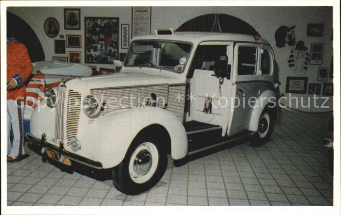 Autos English Taxi Cab Liberace Museum Las Vegas Nevada  Kat. Autos