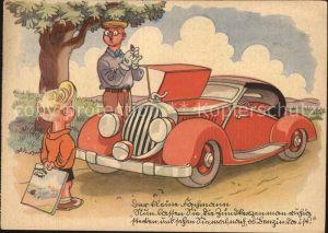 Autos Illustrierte Motor und Sport Werbung  Kat. Autos