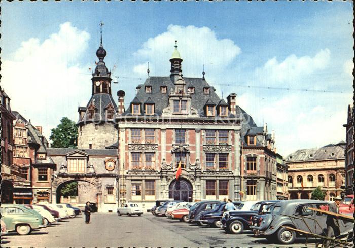 Namur sur Meuse Bourse de Commerce et Beffroi Handelsboerse Glockenturm