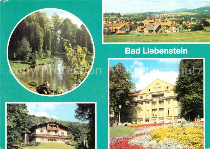 Bad Liebenstein Elisabethpark Panoramaweg Heimgaststaette Feodora Kurhaus Kat. Bad Liebenstein