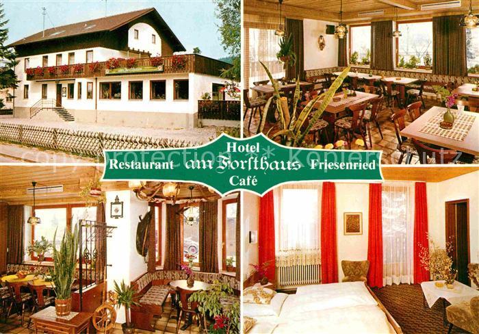 Friesenried Hotel Restaurant Am Forsthaus Gaststube Doppelzimmer  Kat. Friesenried