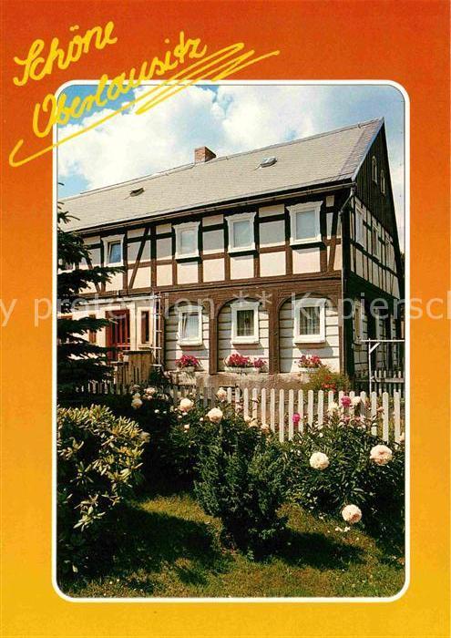 Oberlausitz Region Fachwerkhaus