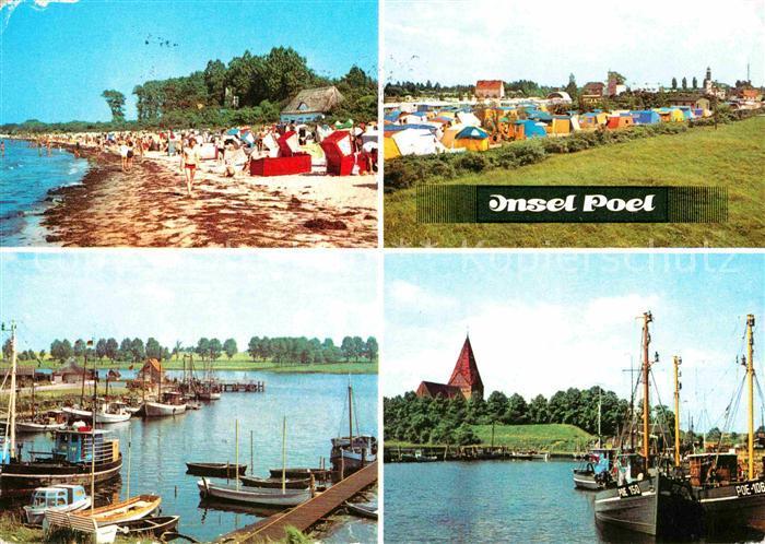 Insel Poel Strand Schwarzer Busch Timmendorf Kirchdorf Hafen Kat