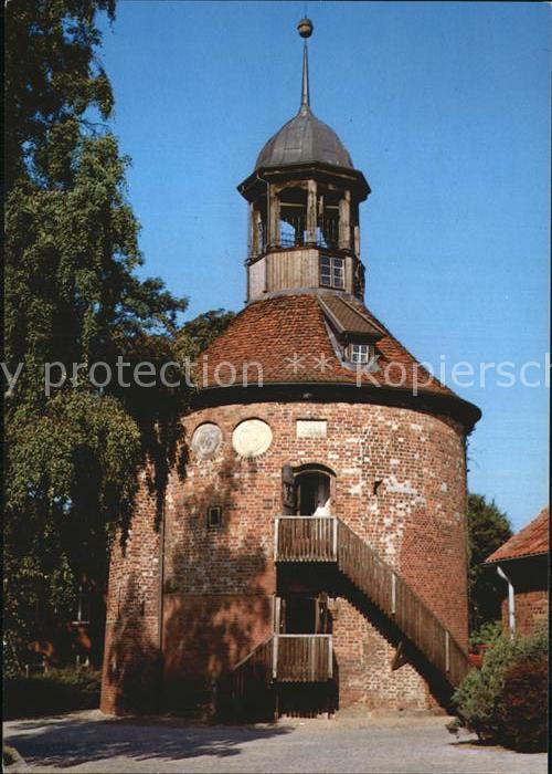 Lauenburg Elbe Schlossturm Kat. Lauenburg  Elbe