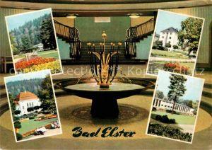 Bad Elster Badecafe Badehaus Am Rosengarten Wandelhalle Trinkbrunnen Kat. Bad Elster