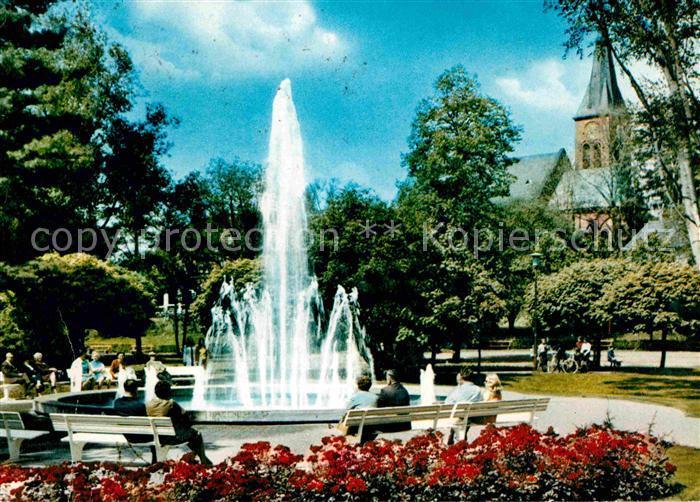 marktredwitz stadtpark mit dr holzberger brunnen kat marktredwitz nr kv54495 oldthing. Black Bedroom Furniture Sets. Home Design Ideas