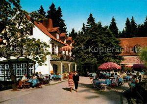 Leopoldstal Lippe Waldhotel Pension Silbermuehle  Kat. Horn Bad Meinberg