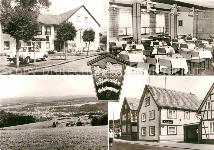 Nahetal Waldau Erholungsheim Gasthaus Schilling Kat. Nahetal Waldau