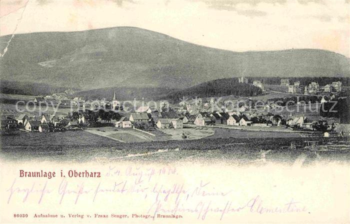 Braunlage Oberharz Kat. Braunlage Harz