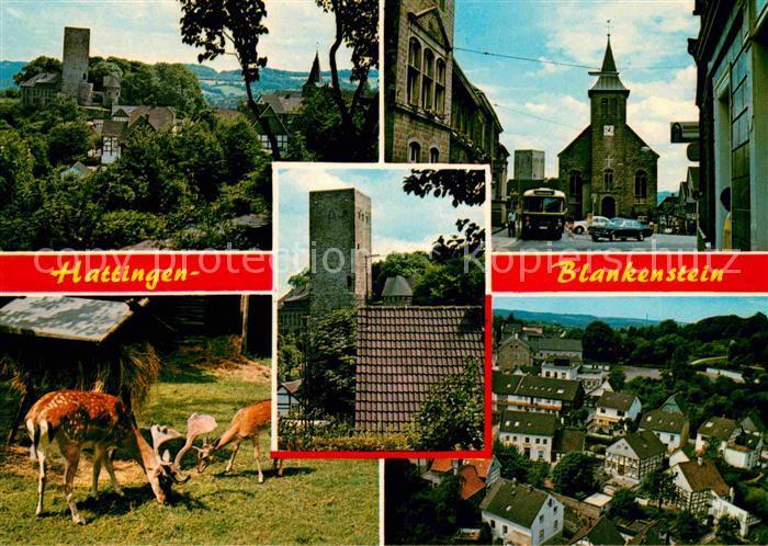 Hattingen Ruhr Blankenstein Burg Kat. Hattingen