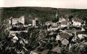Hohenstein Untertaunus Burg Hohenstein Panorama Kat. Hohenstein