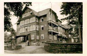 Oberhof Thueringen VDK Erholungsheim Kat. Oberhof Thueringen