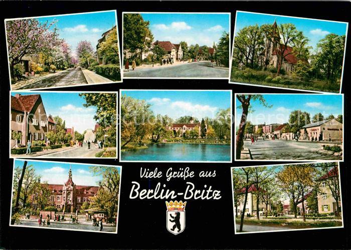 Britz Berlin Teilansichten Kat. Berlin