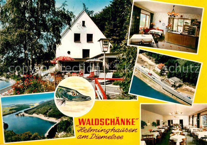 Helminghausen Hotel Restaurant Cafe Waldschaenke Schlueter ...
