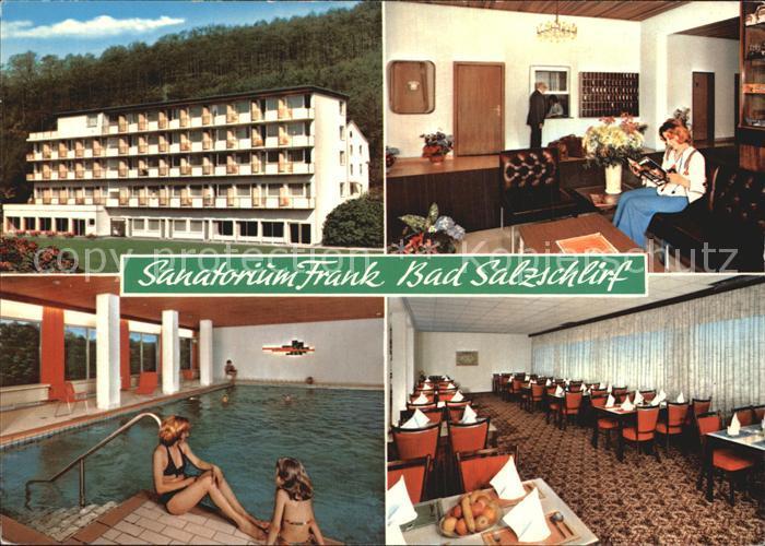 Bad Salzschlirf Sanatorium Frank  Kat. Bad Salzschlirf