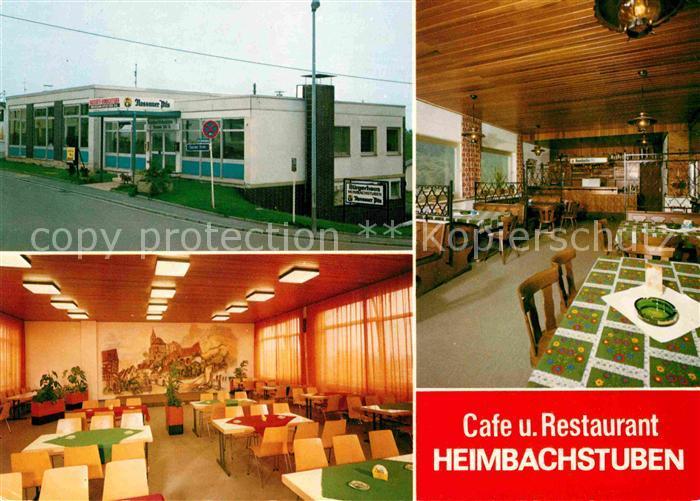 Heimbach Bad Schwalbach Cafe Restaurant Heimbachstuben Kat. Bad Schwalbach