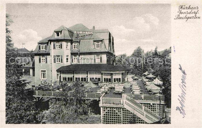 Jonsdorf Hotel Kurhaus Jonsdorf Kat. Kurort Jonsdorf