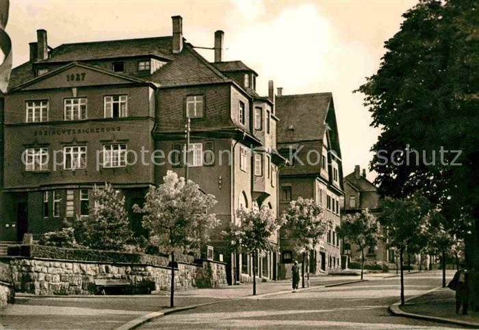 Lugau Erzgebirge Poststrasse Kat. Lugau Erzgebirge