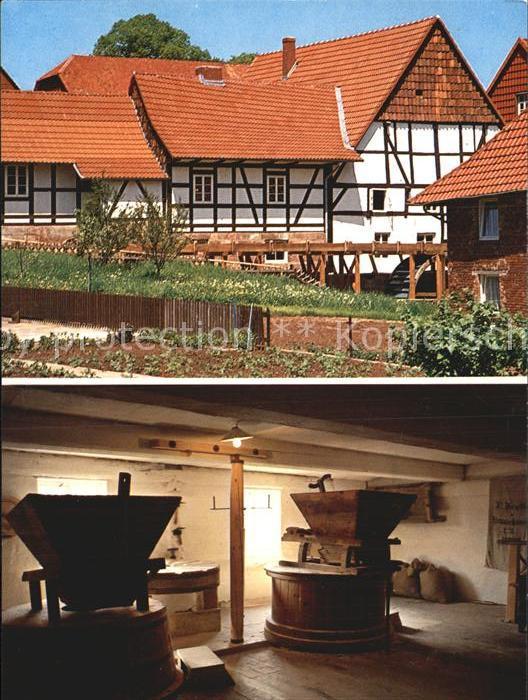 Ebergoetzen wo Max und Moritz lebten Wilhelm Busch Muehle Kat. Ebergoetzen