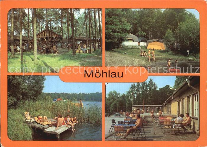Moehlau Camping Restaurant Waldschaenke Kat. Moehlau Nr. kv49979 ...