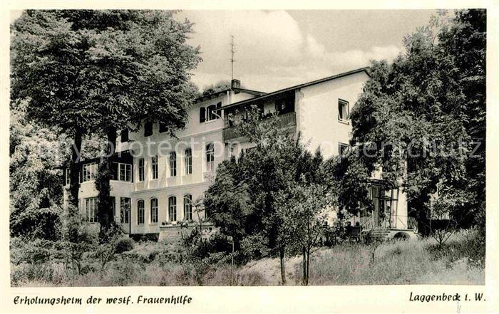 Laggenbeck Erholungsheim der westf. Frauenhilfe Kat. Ibbenbueren