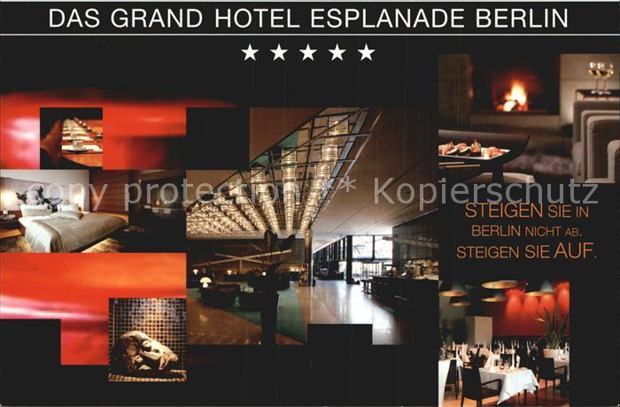 Berlin Grand Hotel Esplanade  Kat. Berlin
