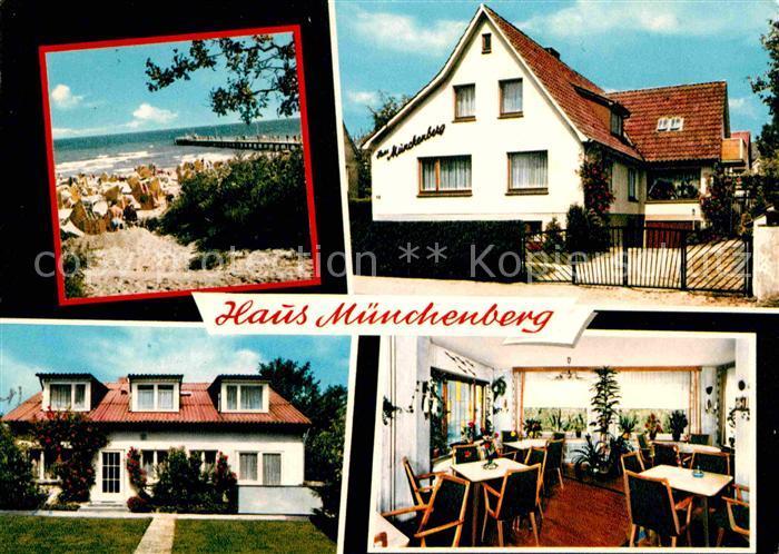 AK Ansichtskarte Timmendorfer Strand Posterholungsheim