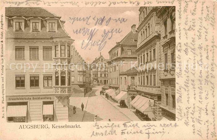 Augsburg Kesselmarkt Kat. Augsburg