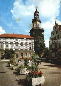 Rinteln Weser Marktplatz Kirche Kat. Rinteln