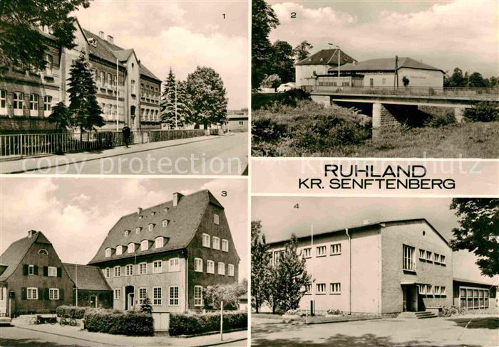 Ruhland Elsterbruecke Oberschule Geschwister Scholl Kat. Ruhland