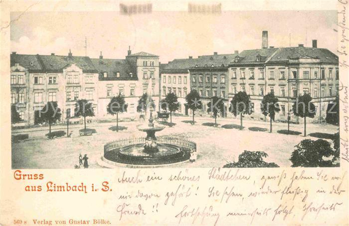 Limbach Sachsen Brunnen Kat. Limbach Oberfrohna