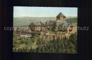 Burg Wupper Blick zur Burg Kat. Solingen