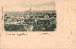 Regensburg Panorama Kat. Regensburg