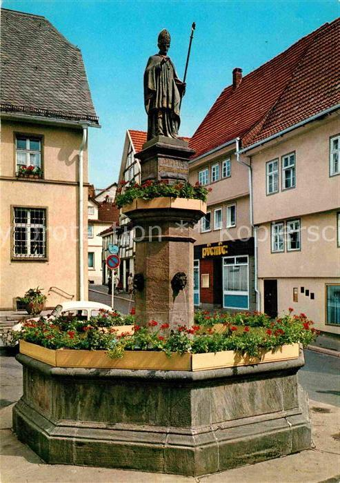 Hersfeld Bad Lullus Brunnen Kat. Bad Hersfeld