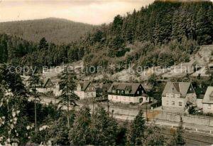 Antonsthal Erzgebirge Teilansicht Kat. Breitenbrunn Erzgebirge