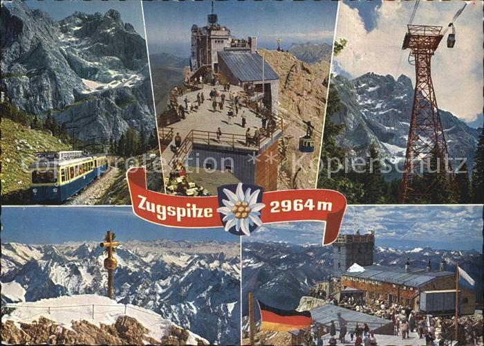Zugspitze Zahnradbahn Bergstation Muenchner Haus Kat