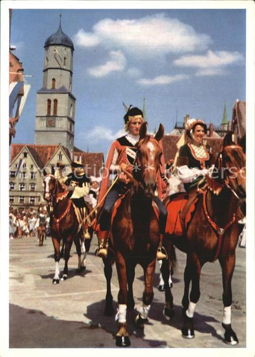 Biberach Baden Schuetzenfest Reiter aus der Spitalgruppe  Kat. Biberach Kinzigtal