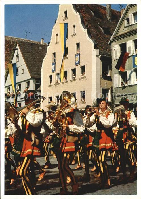 Biberach Baden Schuetzenfest Musik  Kat. Biberach Kinzigtal