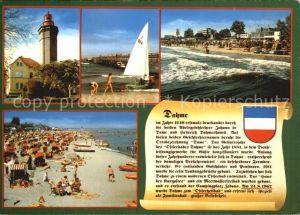 Dahme Ostseebad Strand Leuchtturm Kat. Dahme