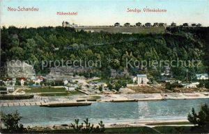 Schandau Bad Neu Schandau Hoehenhotel Sendigs Villenkolonie Kat. Bad Schandau