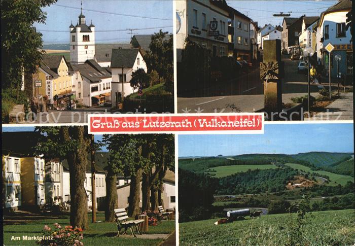 Lutzerath Marktplatz  Kat. Lutzerath